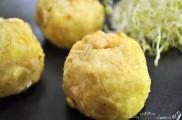 Boulette patate et noix de cajou