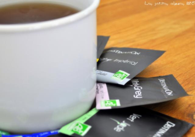 J'ai testé pour vous les thés Destination Bio (concours inside)