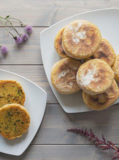 Petits pains à la patate douce (Bolo do caco)